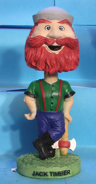 Jack Timber mascot bobblehead