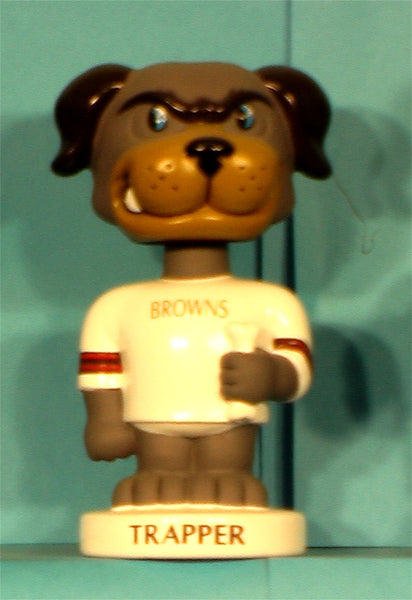 Cleveland Browns Trapper bobblehead