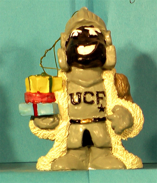 UCF Central Florida Golden Knights '99 Mascot Christmas Ornament