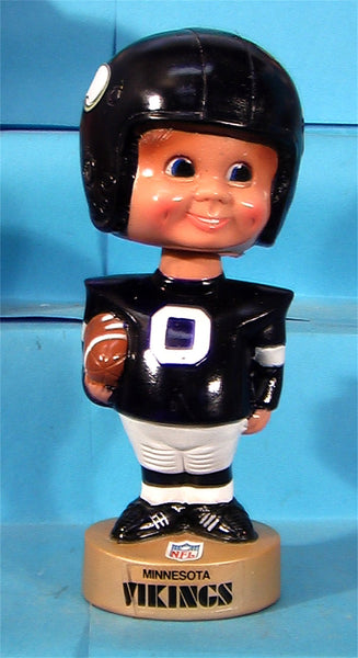 Minnesota Vikings  70's Plastic NFL football bobblehead