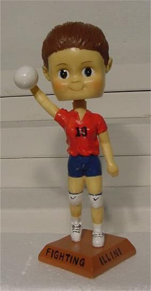Volleyball Girl Custom Painted Bobblehead