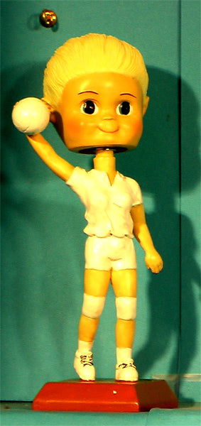 Volleyball Girl Paintable Bobblehead (case 24)
