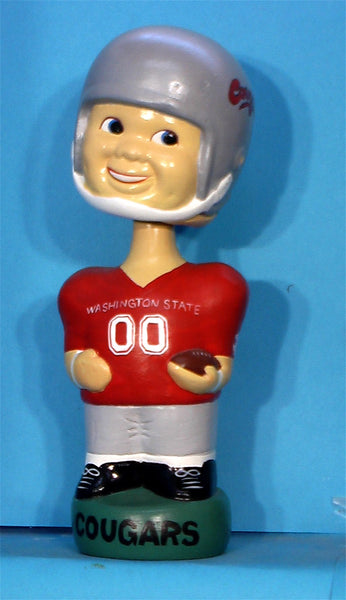 Washington State Cougers Football Bobblehead Twins Inc