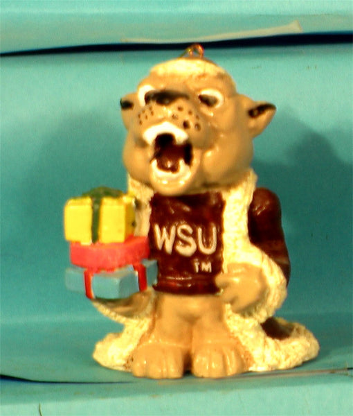 Washington State Cougars '99  NCAA Mascot Christmas Ornament