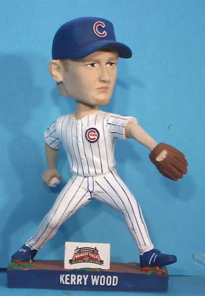 Kerry Wood Cubs Wrigly Field 100 year bobblehead