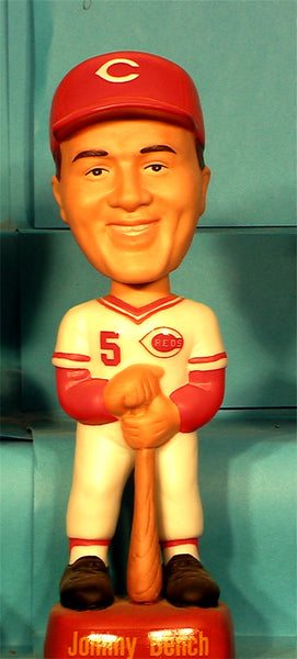 Johnny Bench Bobblehead Cincinnati Reds SAMS