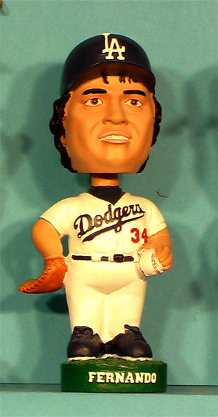 Fernando Valenzuela 2001 Collectors Edition Los Angeles Dodgers bobblehead