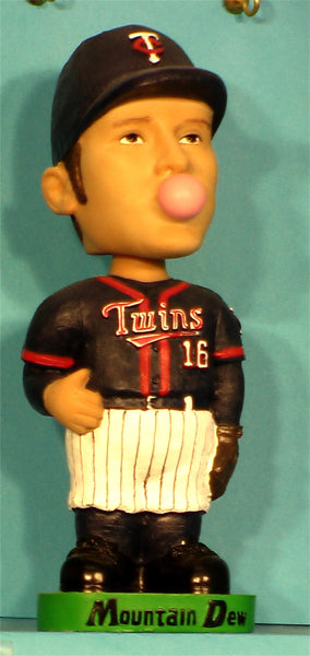 Doug Mientkiewicz AGP bobblehead Minnesota Twins Mountain Dew