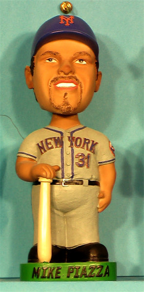 Mike Piazza New York Mets bobblehead away uniform