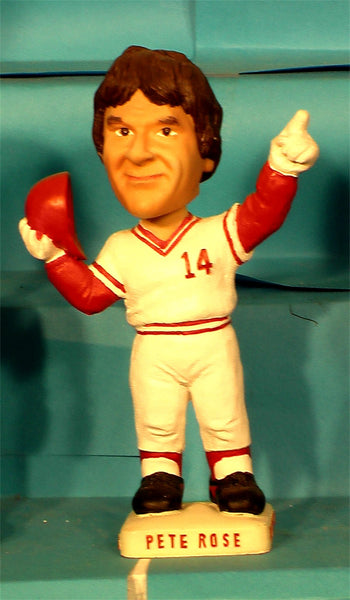 Pete Rose Cincinnati  Reds Hit King Bobblehead