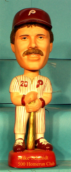Mike Schmidt Philadelphia Phillies 500 Home runs Sams Bobblehead