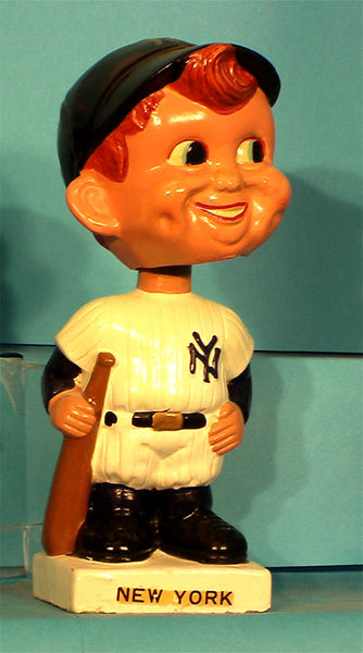 Vintage New York Yankees white base bobblehead #2