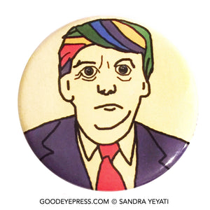 Donnie Baby LGBTQ Political Protest Pinback Button - Good Eye Press