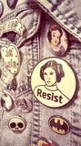 Princess Leia | Carrie Fisher Resistance Pinback Button - Good Eye Press
