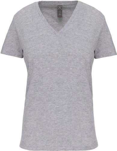 Tee-Shirt Bio col V Femme / Personnalisable