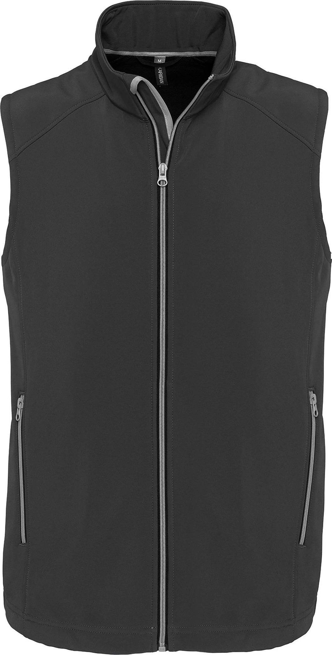 Bodywarmer Softshell 2 Couches sans Manche / Personnalisable
