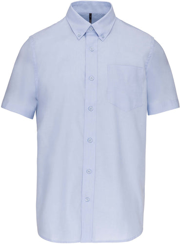 Chemise oxford Manches Courtes Homme / Personnalisable