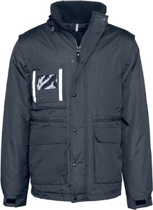 Parka Workwear  Manches Amovibles / Personnalisable