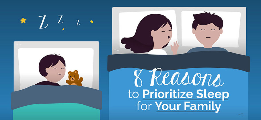8 Reasons to Prioritize Sleep for your Family (Infographic)