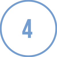 Circle Icon with the number 4