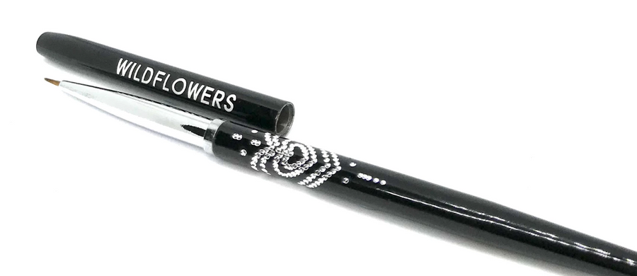 Black Mini-Mini Brush With Lid