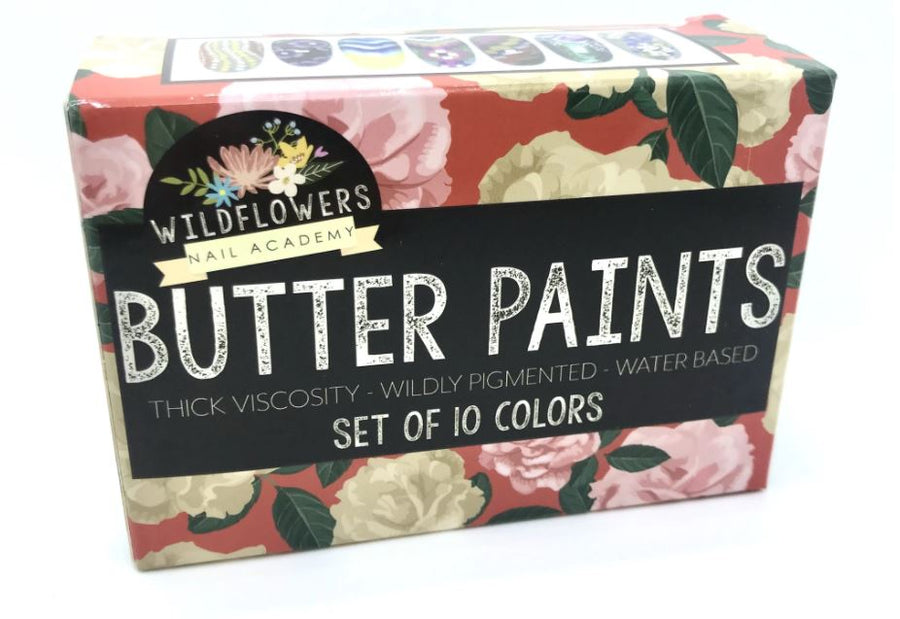 Butter Paints for One-Stroke