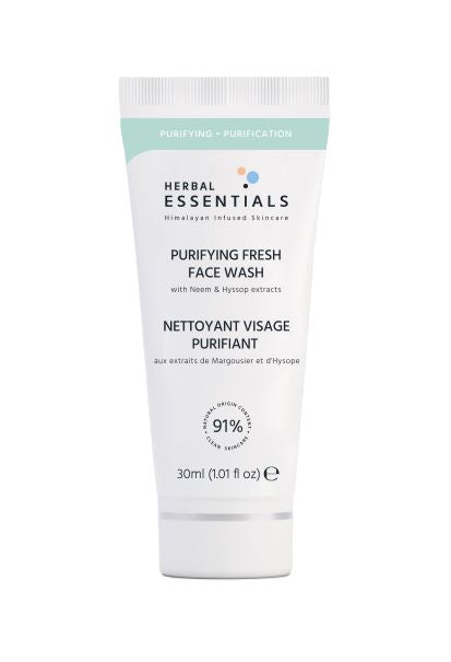 HERBAL ESSENTIALS Purifying Fresh Face Wash 30ml Deluxe Size