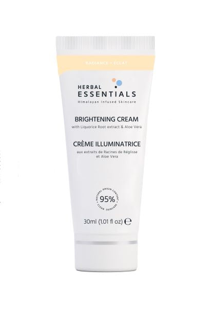 HERBAL ESSENTIALS Brightening Cream 30ml Deluxe Size