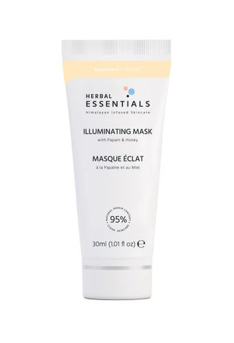 HERBAL ESSENTIALS Illuminating Mask 30ml Deluxe Size
