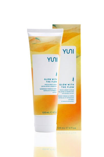YUNI Glow With the Flow Face & Body Scrub 118g