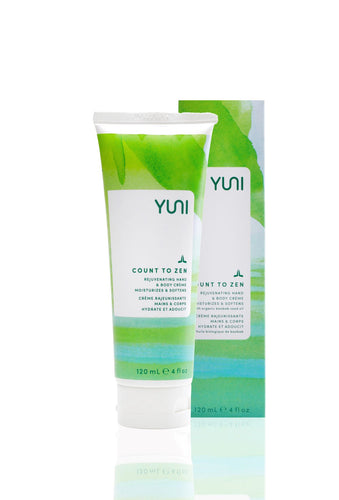 YUNI Count to Zen Rejuvenating Hand and Body Cream 120ml