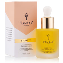 Load image into Gallery viewer, TAMAAR LONDON Advanced Natural Lightening Face Oil 30ml