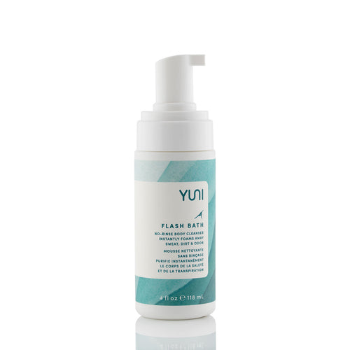 YUNI Flash Bath No-Rinse Body Cleansing Foam 118ml
