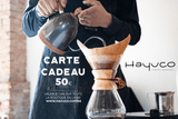 Carte cadeau - Hayuco Coffee Roasters  - torréfacteur toulouse - Specialty Coffee Toulouse