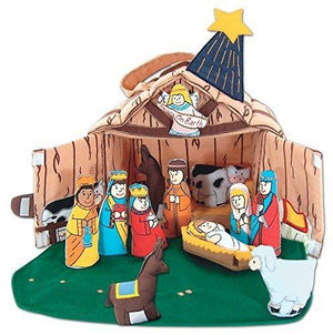 Nativity House Manger - My Growing Season