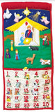 Traditional Nativity Advent Calendar - My Growing Season