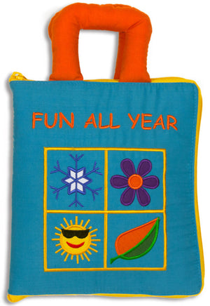 Fun All Year Quiet Book - My Growing Season