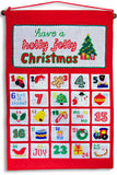 Holly Jolly Christmas Advent Calendar - My Growing Season