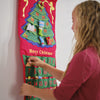 "Christmas Tree Advent Calendar With ""Family Name"""