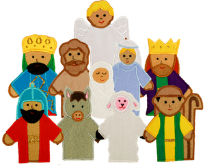 Nativity Finger Puppets - My Growing Season