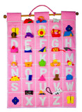 ABC Wall Hanging (Pink)
