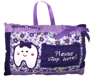 My Tooth Fairy Pillow Girl (Purple)