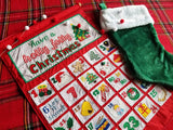 Holly Jolly Christmas Advent Calendar