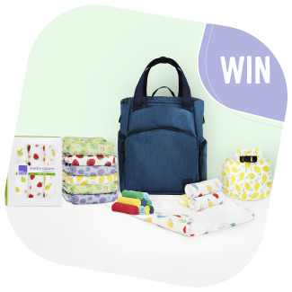 Bambino Mio reusable nappy week giveaway prize