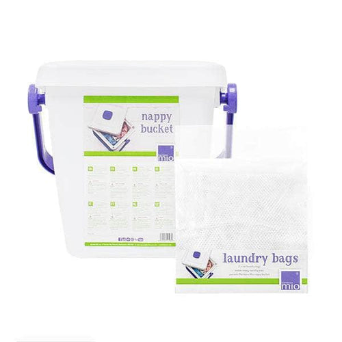 nappy bucket & laundry bags