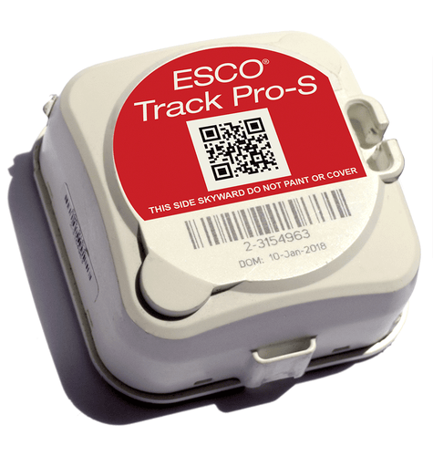 Industrial Asset Tracker - ESCO® Track Pro-S with bracket & baseplate