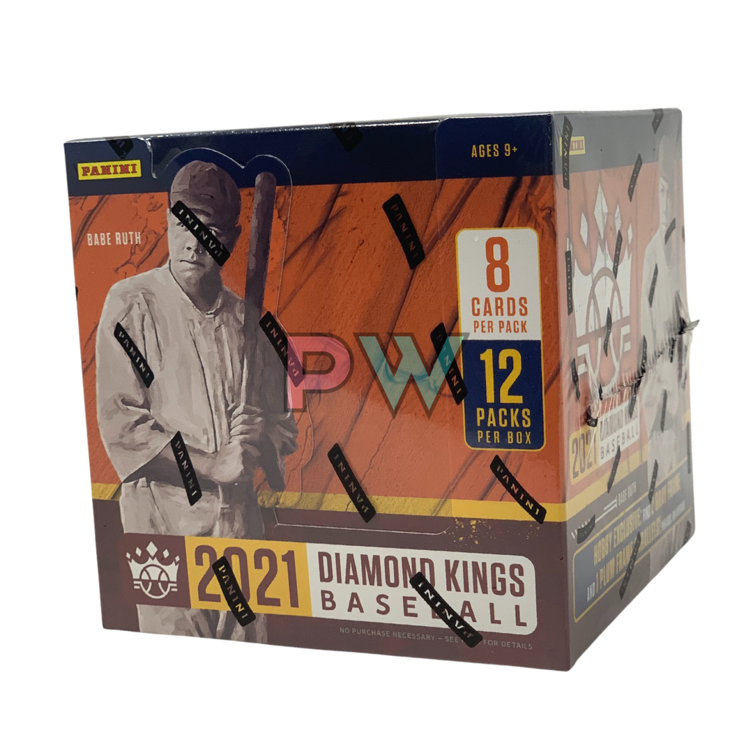 MLB 2021 DIAMOND KINGS HOBBY BOX
