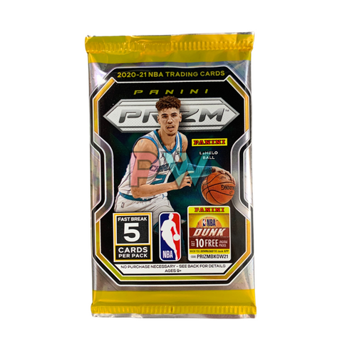 NBA 2020 PRIZM FASTBREAK PACK