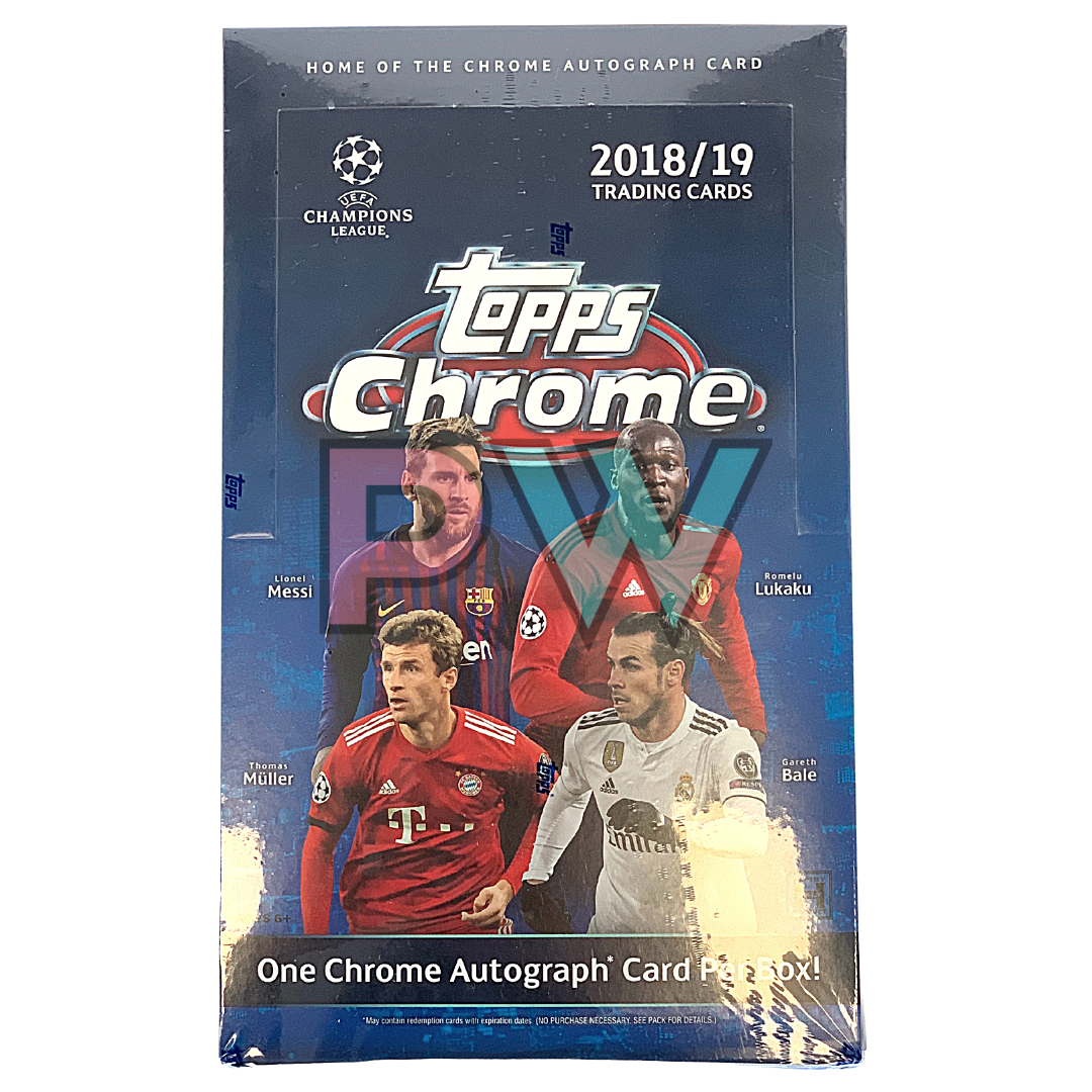 SOCCER 2018-2019 TOPPS CHROME CHAMPIONS LEAGUE