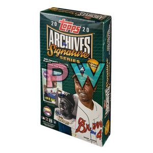 2020 TOPPS ARCHIVES SIGNATURES SERIES